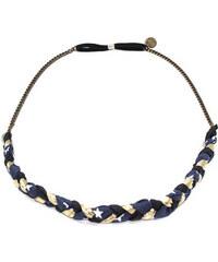 Sage et Sauvage Headband iris - bleu Marine & or