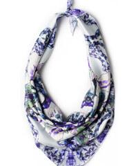 Charlotte Hudders Foulard Iris Lavender