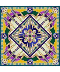 SEFHYIR Foulard - Galaxy Temple - Multi Bleu