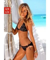 Große Größen: Triangel-Bikini, JETTE, schwarz, Gr.32-40