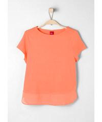 s.Oliver T-Shirt mit Blusensaum