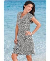 Große Größen: Strandkleid, Graziella, schwarz-weiß, Gr.36-54