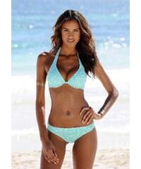 Große Größen: Bikini-Hose ´´Melange´´, Venice Beach, mint-weiß, Gr.32-44