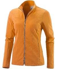 Große Größen: JOY sportswear Jacke »KATTY«, orange fusion, Gr.36-36