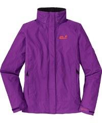 Große Größen: Jack Wolfskin Wetterschutzjacke »MOUNTANA WOMEN«, purple glow, Gr.S-S
