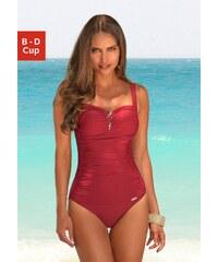 Große Größen: Badeanzug, LASCANA, rot, Gr.36 (70)-46 (95)