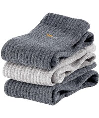 Große Größen: Socken (6 Paar), grau, Gr.35-38-47-49