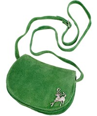 KABE LEDER ACCESSOIRES Große Größen: Trachtentasche, grün, Gr.Leergr&ouml-e