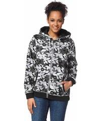 Große Größen: Ocean Sportswear Kapuzensweatjacke, Schwarz, Gr.40/42-48/50
