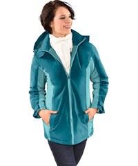 Große Größen: Classic Basics Jacke aus wind- und wasserabweisender Microfaser, petrol-wintertürkis, Gr.40-54