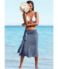 Große Größen: LASCANA Strandkleid mit 5 Tragevarianten, rauchblau, Gr.34-48