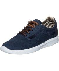 Große Größen: VANS Iso 1.5 Waxed C&L Sneaker, blau / weiß / braun, Gr.8.0 US - 40.5 EU-8.0 US - 40.5 EU