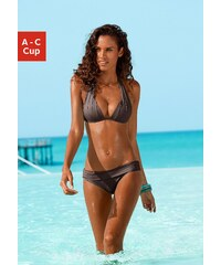 Große Größen: Triangel-Bikini, LASCANA, braun, Gr.32-40