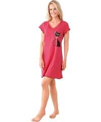 Große Größen: Nachthemd, rot, Gr.36-52