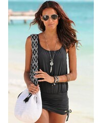Große Größen: Badeanzug-Kleid, LASCANA, schwarz, Gr.36-46