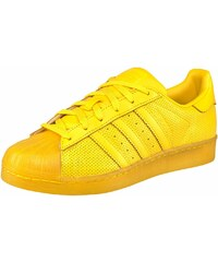 Große Größen: adidas Originals Superstar adicolor Sneaker, Gelb, Gr.37-45