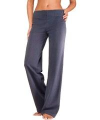 VIVANCE COLLECTION Große Größen: Vivance Homewearhose mit geradem Bein in K-Größen, marine, Gr.18/19-24/25