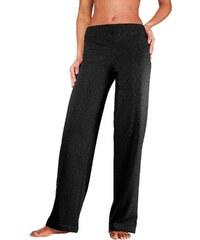 VIVANCE COLLECTION Große Größen: Vivance Homewearhose mit geradem Bein in K-Größen, schwarz, Gr.18/19-24/25