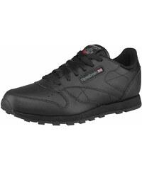 Große Größen: Reebok Classic Leather Sneaker, Schwarz, Gr.35-38