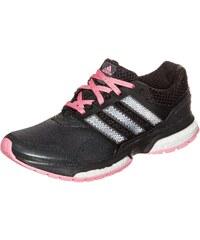 Große Größen: adidas Performance Response Boost 2 Laufschuh Damen, grau / schwarz, Gr.8.5 UK - 42.2/3 EU-8.5 UK - 42.2/3 EU