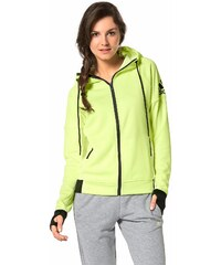 Große Größen: adidas Performance Trainingsjacke, Gelb, Gr.M (40/42)-L (44/46)