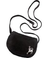 KABE LEDER ACCESSOIRES Große Größen: Trachtentasche, schwarz, Gr.Leergr&ouml-e