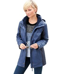 Große Größen: Collection L. Jacke mit 3 Tragemöglichkeiten, jeansblau, Gr.18-26