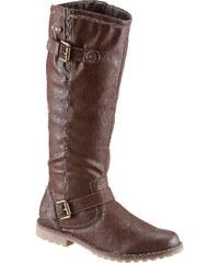 Große Größen: Stiefel von Arizona mit Tex-Ausstattung, braun, Gr.36-42