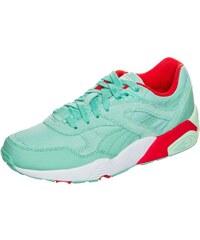 Große Größen: PUMA Trinomic R698 Filtered Sneaker Damen, mint / rot / weiß, Gr.3.5 UK - 36.0 EU-7.5 UK - 41.0 EU