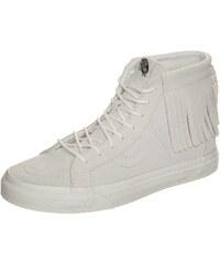 Große Größen: VANS Sk8-Hi Moc Sneaker Damen, hellgrau / weiß, Gr.4.5 US - 36.0 EU-8.5 US - 41.0 EU