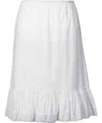 Große Größen: sheego Style Unterrock mit Spitze, weiß, Gr.42-58