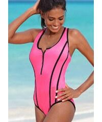 Große Größen: Badeanzug, Bench, pink, Gr.36-46