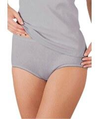 Große Größen: Taillen-Slip, Rosalie (2er Pack), weiß + silberfarben, Gr.38-52