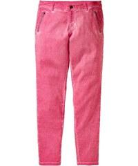 Große Größen: sheego Casual Chino Stretch-Hose, flamingo, Gr.21-104