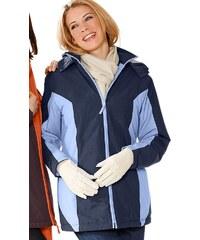 Große Größen: Classic Basics Jacke aus wind- und wasserabweisender Microfaser, marine-bleu, Gr.38-56