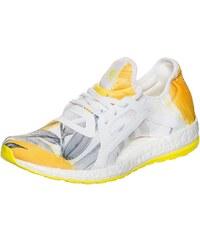 Große Größen: adidas Performance Pureboost X Laufschuh Damen, weiß / gelb, Gr.8.5 UK - 42.2/3 EU-8.5 UK - 42.2/3 EU