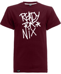 Aight Ready for Nix T-Shirts T-Shirt maroon