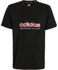 Große Größen: adidas Performance T-Shirt, »Boxing Club«, schwarz, Gr.L-M