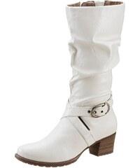 Große Größen: Tamaris Stiefel, weiß, Gr.39-42