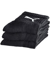 Große Größen: Socken, Puma (3 Paar), schwarz, Gr.35-38-43-46