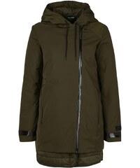Große Größen: Nike Sportswear Uptown 3-In-1 Short Parka Winterjacke Damen, dunkelgrün / schwarz, Gr.S - 36/38-XS - 32/34