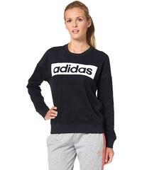 Große Größen: adidas Performance ESSENTIALS LINEAR SWEATSHIRT Sweatshirt, Schwarz-Weiß, Gr.L (44/46)-M (40/42)