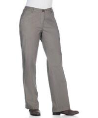 Große Größen: sheego Casual Gerade Stretch-Hose, grau, Gr.40-56