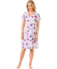 Große Größen: Nachthemd, Arabella, rosé-bedruckt, Gr.36/38-52/54
