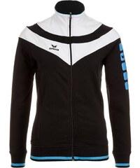 Große Größen: ERIMA 5-CUBES Fashion Jacke Damen, schwarz/weiß/curacao, Gr.34-48
