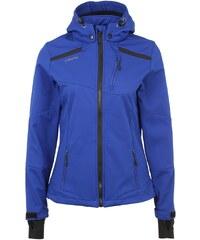 Große Größen: ERIMA Softshell Jacke Damen, indigo blau/schwarz, Gr.34-48