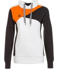 Große Größen: ERIMA Premium One Hoodie Damen, weiß/schwarz/orange, Gr.34-48
