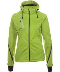 Große Größen: ERIMA Softshell Jacke Function Damen, apfelgrün/pinie, Gr.34-48