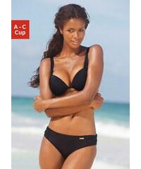 Große Größen: Push-up-Bikini, LASCANA, schwarz, Gr.32-40