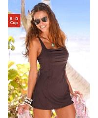Große Größen: Badeanzug-Kleid, LASCANA, braun, Gr.40 (80)-54 (115)